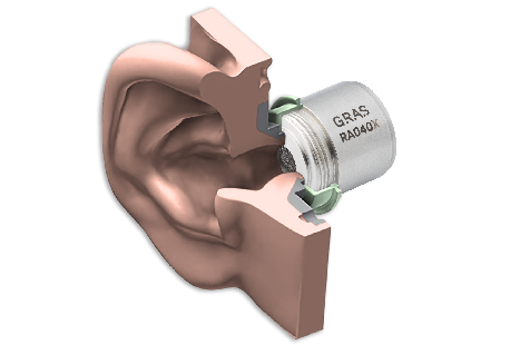 GRAS RA040X Ear Simulator with Pinna