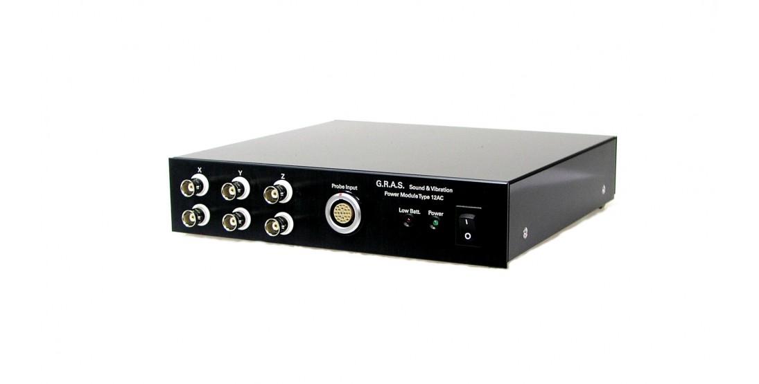 GRAS 12AC 6-Channel Power Module for GRAS Vector-intensity Probe