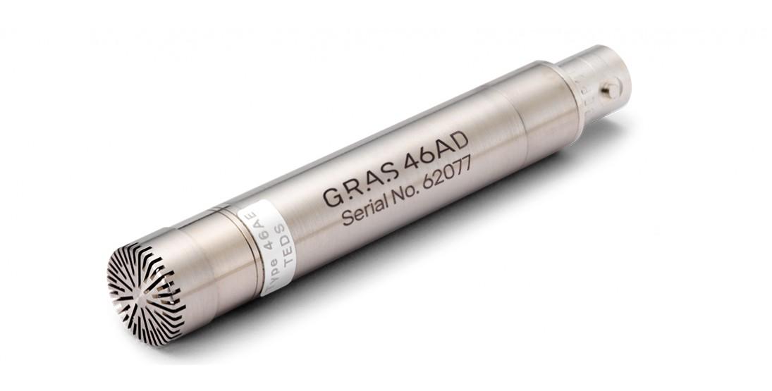 "GRAS 46AD 1/2"" CCP Pressure Standard Microphone Set, High Sensitivity"