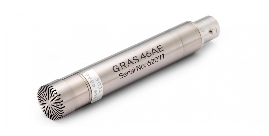 GRAS 46AE 1/2'' CCP Free-field Standard Microphone Set
