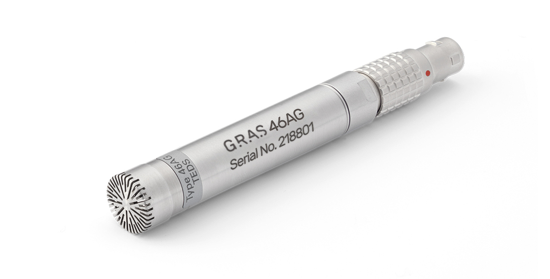 GRAS 46AG 1/2'' LEMO Pressure Standard Microphone Set