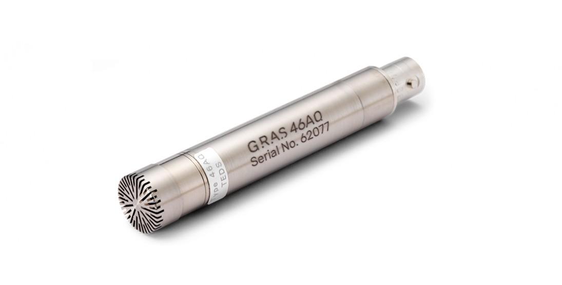GRAS 46AQ 1/2'' CCP Random Incidence Standard Microphone Set
