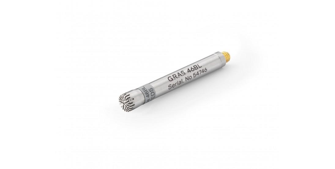 "GRAS 46BL 1/4"" CCP Pressure Standard Microphone Set, High Sensitivity"