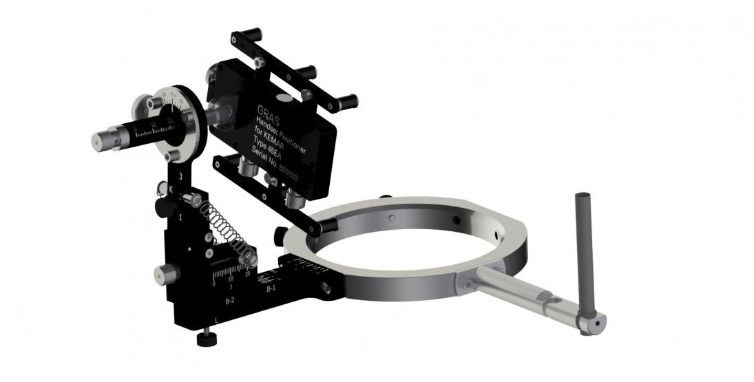 GRAS 45EA Handset Positioning System for KEMAR