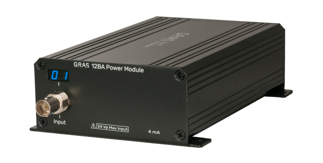 GRAS 12BA 1-Channel CCP Power Module with TEDS Support