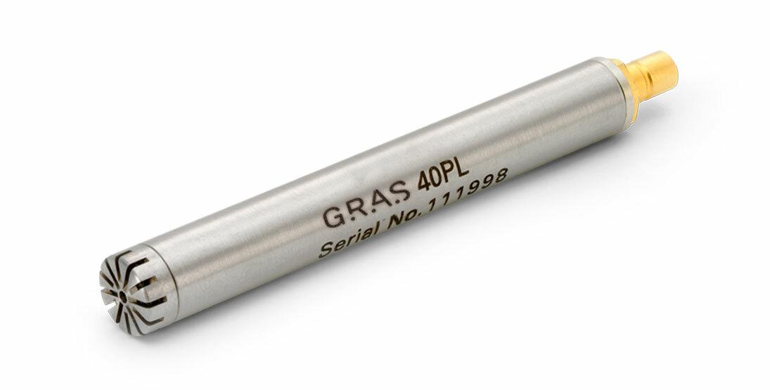 GRAS 40PL CCP Free-field Array Microphone, High Pressure