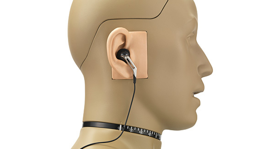GRAS 45BB-5 Head & Torso for Ear- and Headphone Test, 2-Ch LEMO
