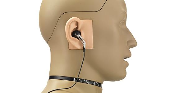 GRAS 45BB-10 KEMAR with Anthropometric Pinna for Ear- and Headphone Test, 2-Ch CCP