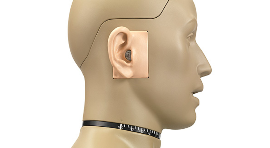 GRAS 45BB-4 KEMAR Head & Torso for Sound Quality Recording, 2-Ch CCP