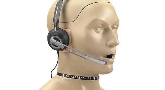 GRAS 45BC-1 KEMAR Head & Torso with Mouth Simulator for Headset Test, 2-Ch LEMO