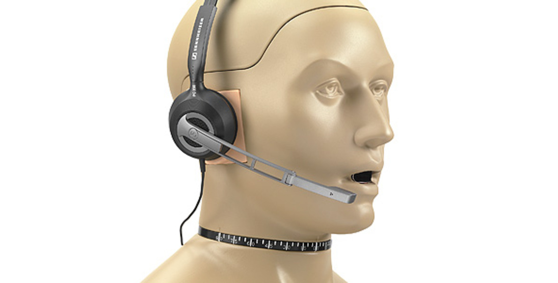 GRAS 45BC-15 KEMAR with Mouth Simulator and Hi-Res Simulators for Headset Test, 2-Ch LEMO