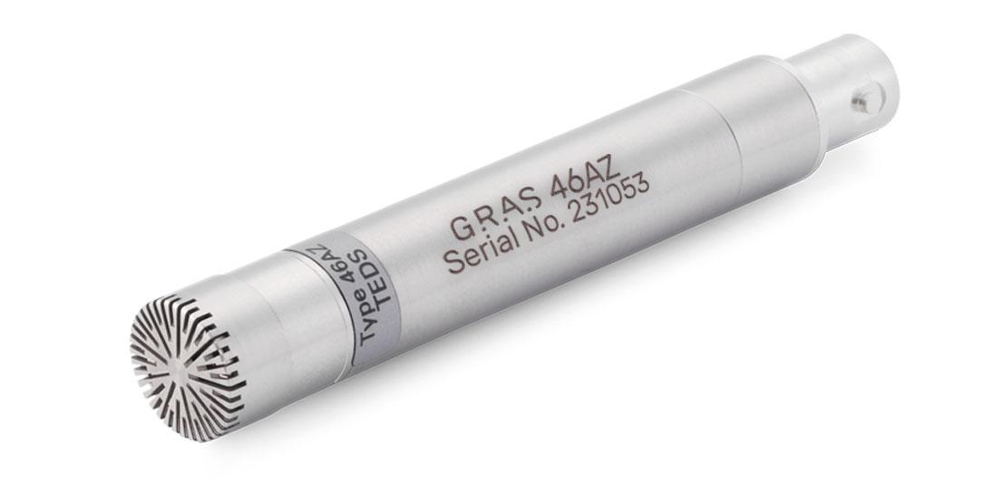GRAS 46AZ 1/2'' CCP Free-field Standard Microphone Set, Low Frequency