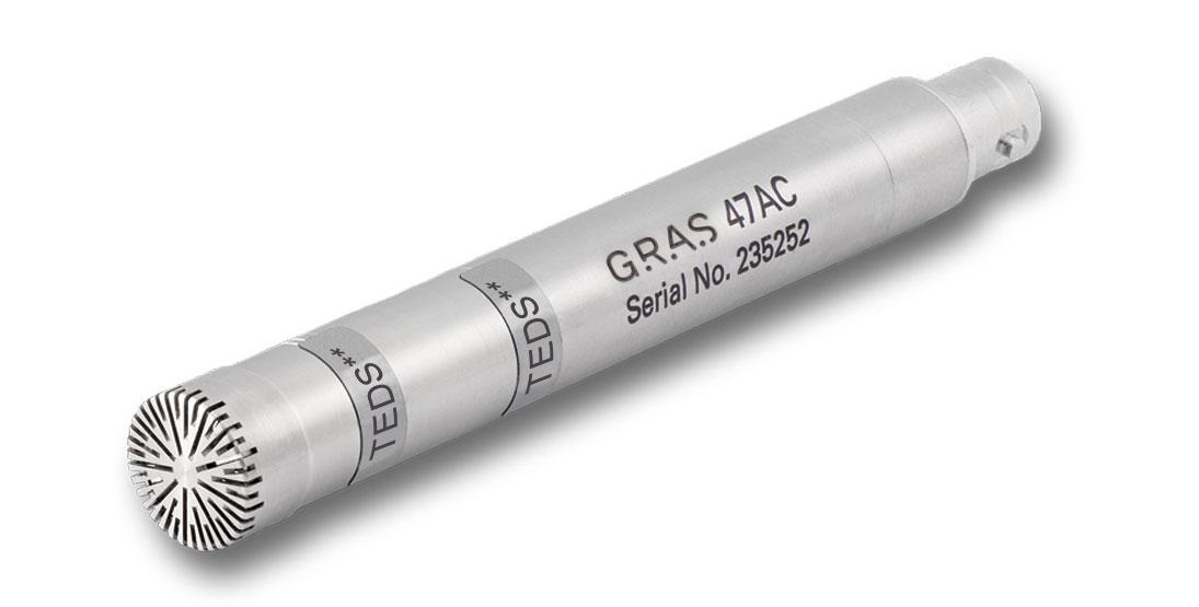 """GRAS 47AC 1/2"""" CCP Infra-Sound Microphone Set"""