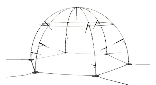 GRAS 67HB 2 m LEMO Hemisphere kit