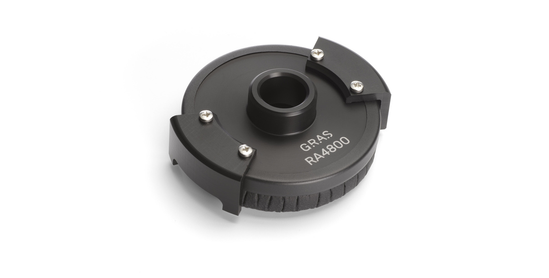 GRAS RA4800 Adapter for Sensitivity Verification of Flush/Surface Microphones