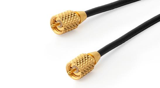 GRAS AA0064 3 m Microdot - Microdot Cable, High Temp
