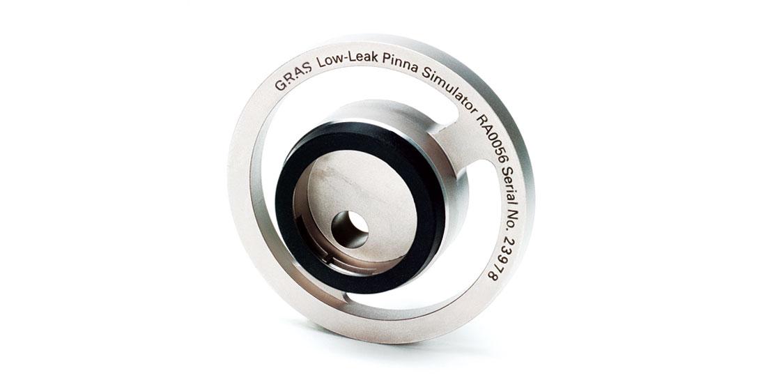 GRAS RA0056 Low-leak Pinna Simulator according to ITU-T Rec. P57 Type 3.2