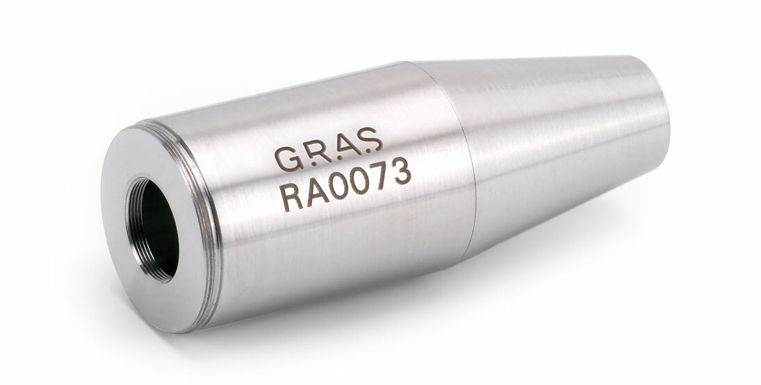 "GRAS RA0073 Adapter for 1"" microphone and 1/2"" preamplifier"
